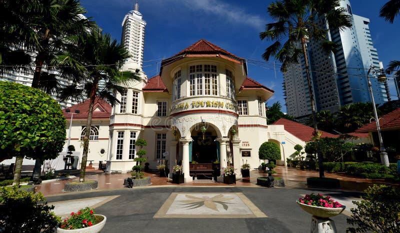 Le centre de tourisme de la Malaisie (MaTiC) photo libre de droits