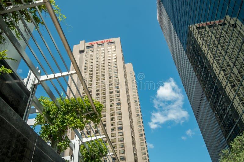 Le Centre Sheraton Montreal Hotel fotografia stock libera da diritti