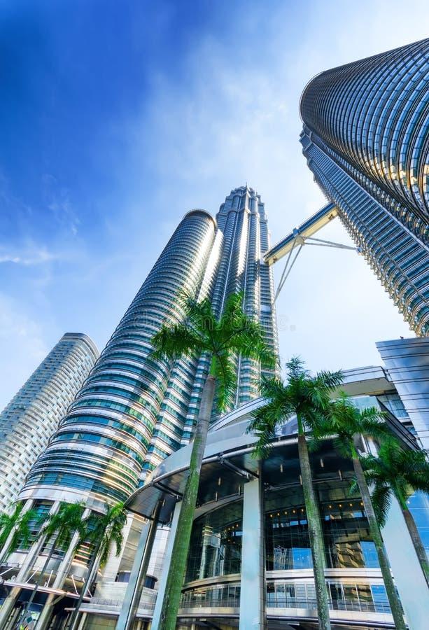 Le centre ville de Kuala Lumpur dans le district de KLCC photo stock