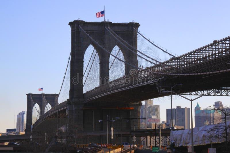 Le centre ville de New York image libre de droits