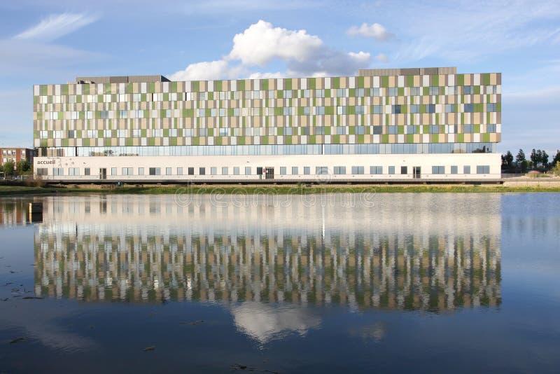 Le centre William Morey d'hôpital dans le sur Saone, France de Chalon photo libre de droits