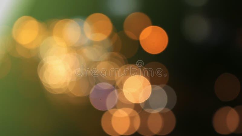 Le cercle de bokeh de fond est abstrait Noël de scintillement de scintillement photo libre de droits