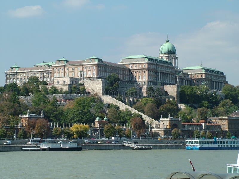 Le château à Budapest en Hongrie image stock