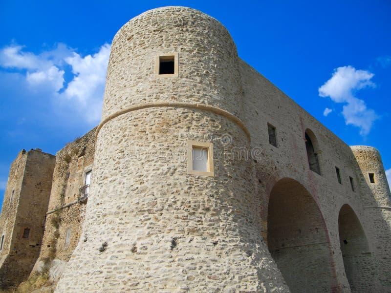 Le château de Bernalda. La Basilicata. image stock