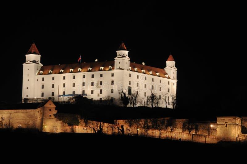 Le château de Bratislava image libre de droits