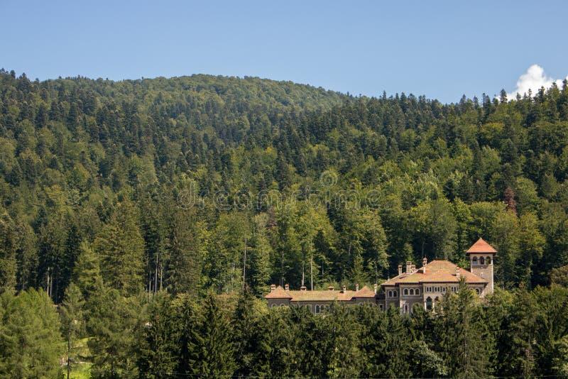 Le château de Cantacuzino photo libre de droits