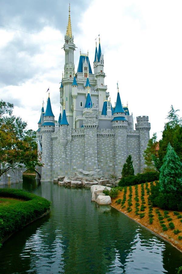 Le château de Cendrillon, Disneyworld, Orlando photo libre de droits