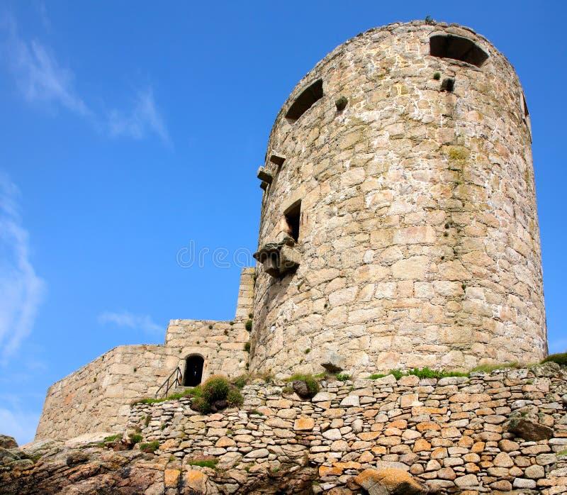 Le château de Cromwell. photographie stock