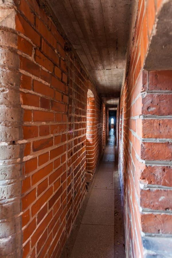 Le château de l'ordre Teutonic dans Malbork photos stock