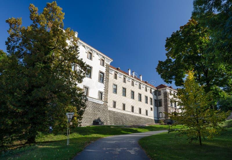 Le château de Nelahozeves, République Tchèque images libres de droits