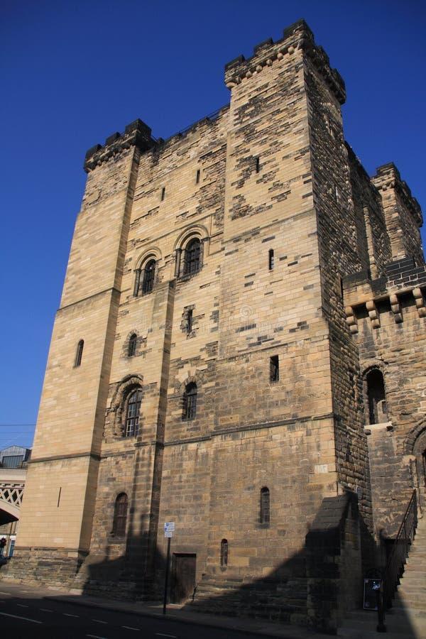 Le château de Newcastle photographie stock libre de droits