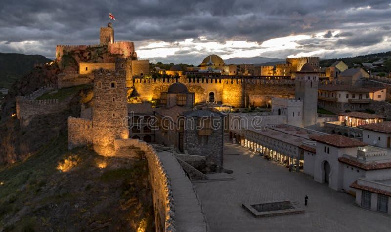 Le château de Rabati en Géorgie photos libres de droits