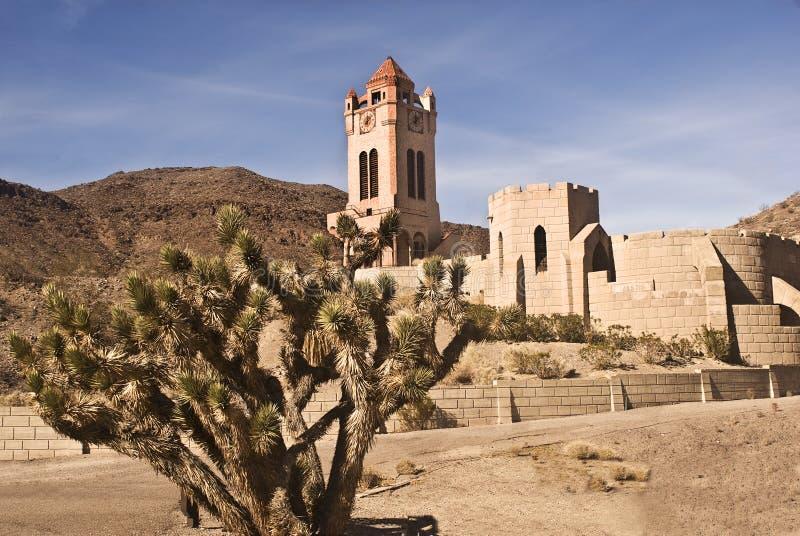 Le château de Scotty photo libre de droits