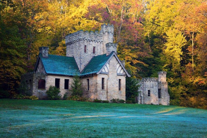 Le château du châtelain en côtes de Willoughby photos stock