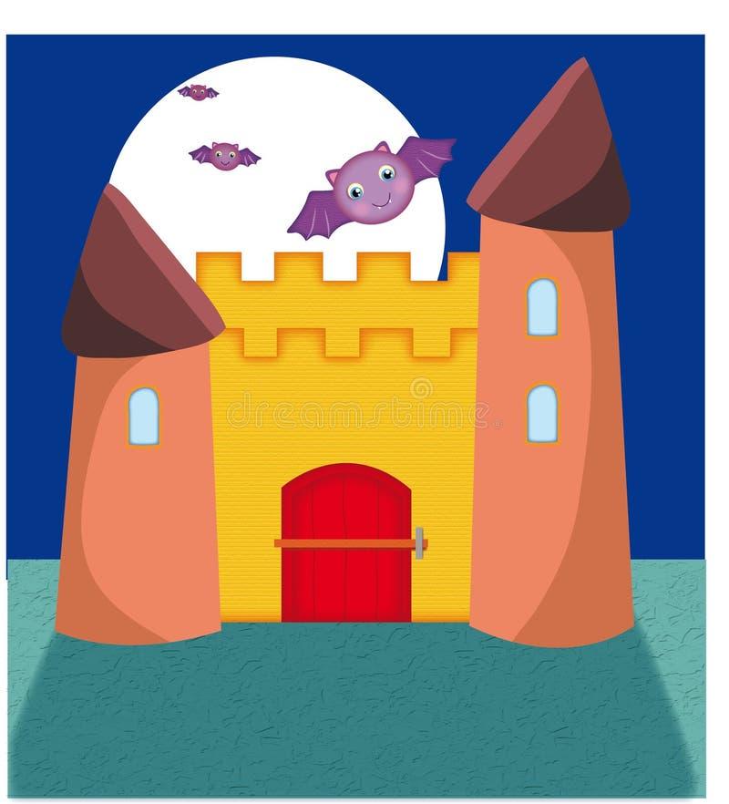 Le château enchanté illustration libre de droits