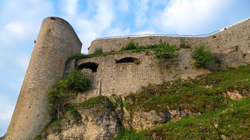 le château hohen neuffen images libres de droits