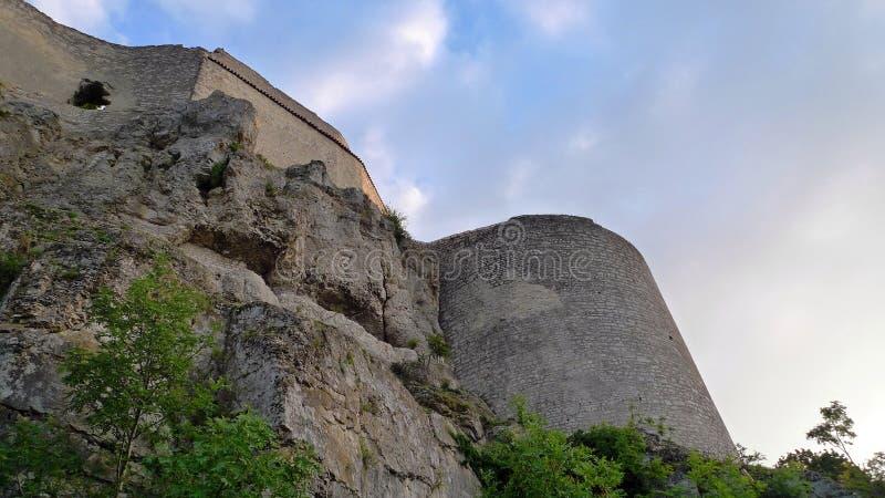 le château hohen neuffen photo stock
