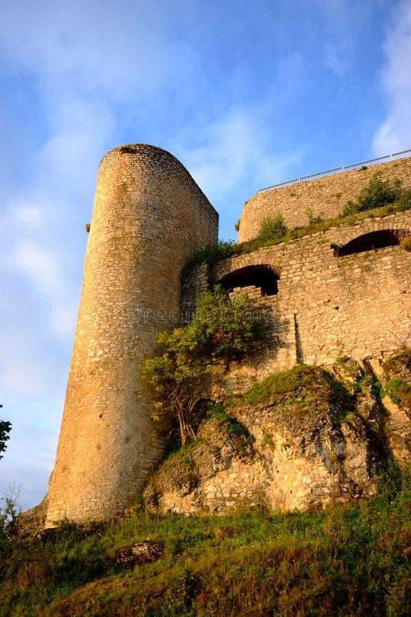 le château hohen neuffen image libre de droits