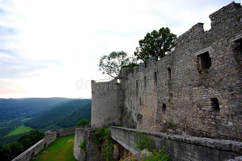 le château hohen neuffen photos stock