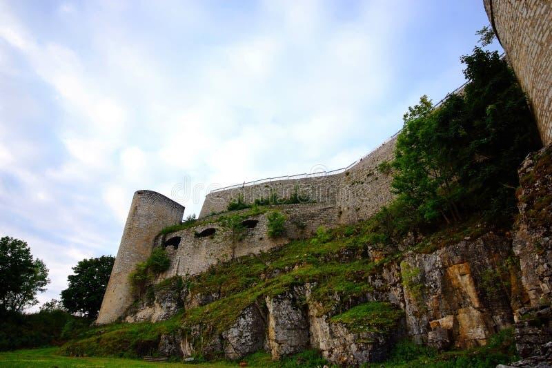 le château hohen neuffen photos libres de droits