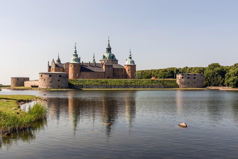 Le château légendaire de Kalmar photos libres de droits