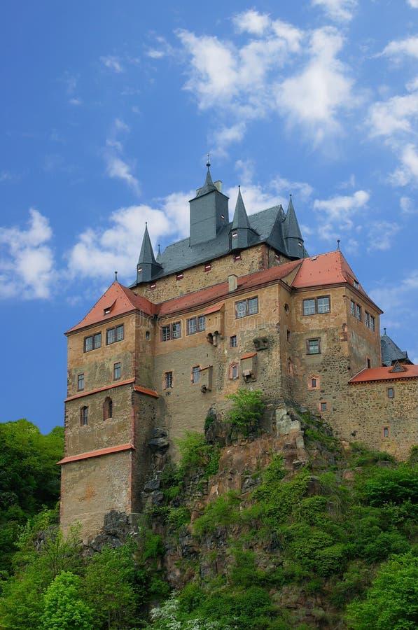 Château Kriebstein image libre de droits