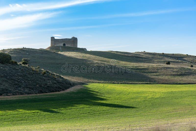 Le château oublié image libre de droits