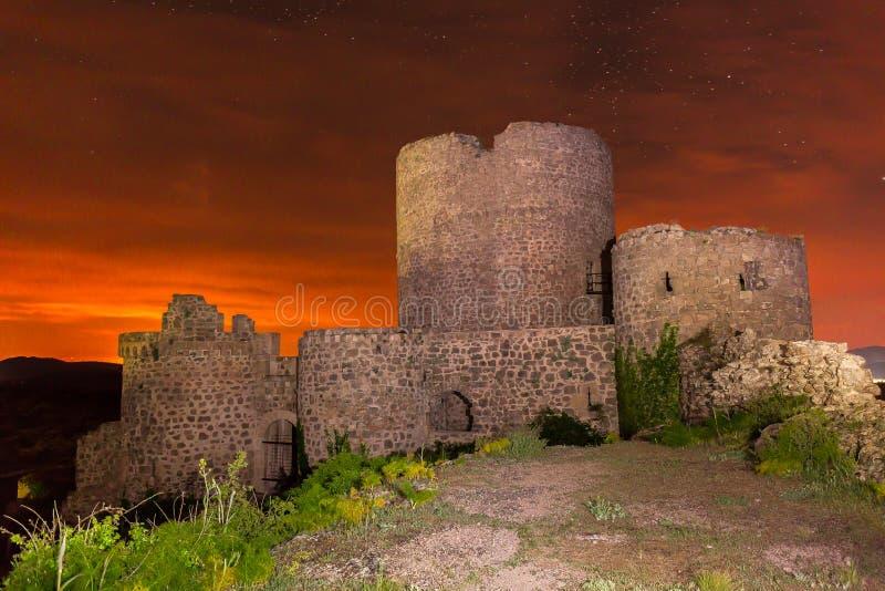 Le château oublié photos libres de droits