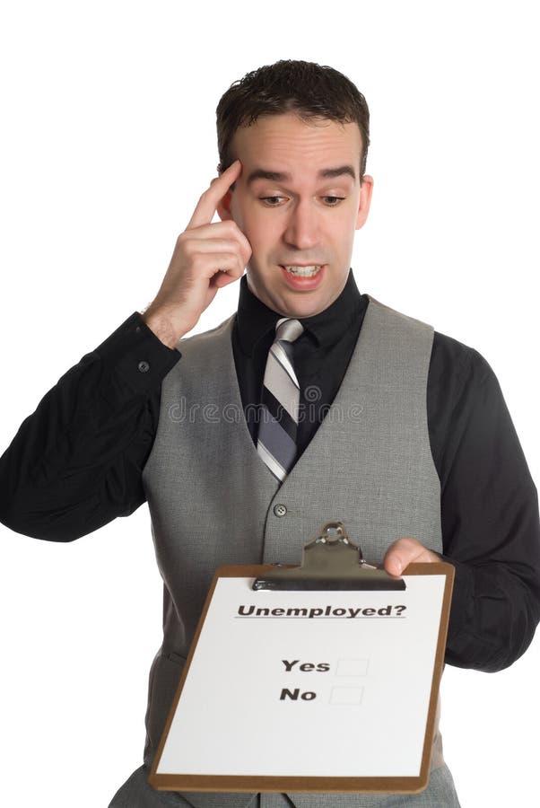le chômage de cadence photographie stock libre de droits