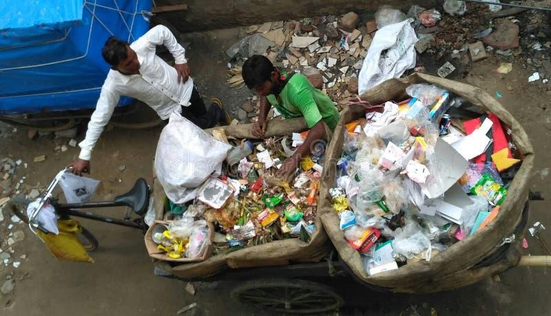 Le chômage en Inde photographie stock libre de droits