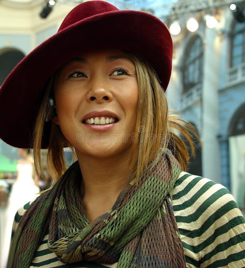 Le chanteur Anita effarouchée image libre de droits