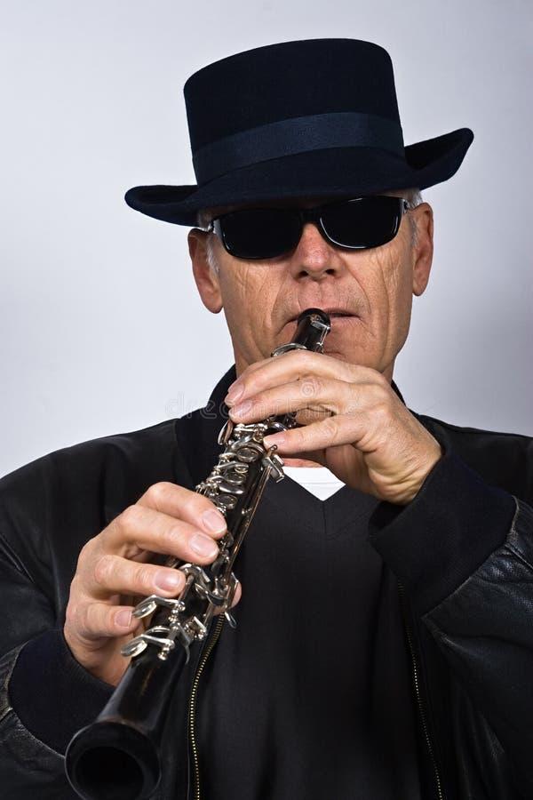 Le chanteur de jazz image libre de droits