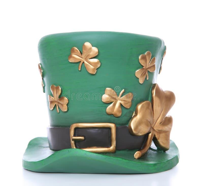 Le chapeau de Patrick de saint photographie stock