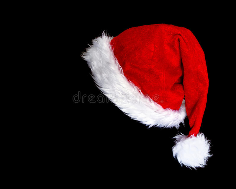 Le chapeau de Santa photo stock