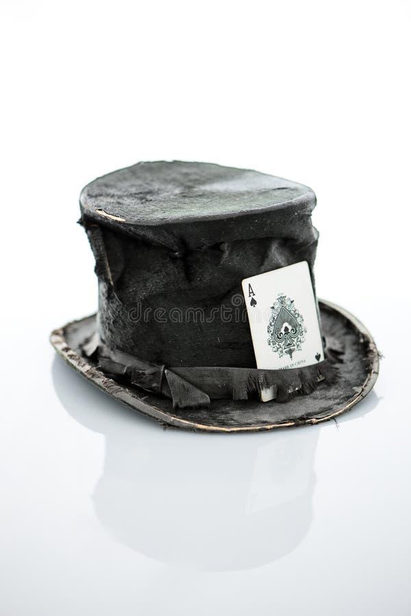 Le chapeau du magicien. images stock