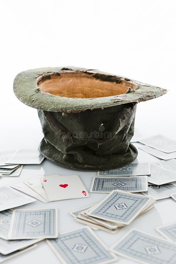 Le chapeau du magicien. photographie stock libre de droits