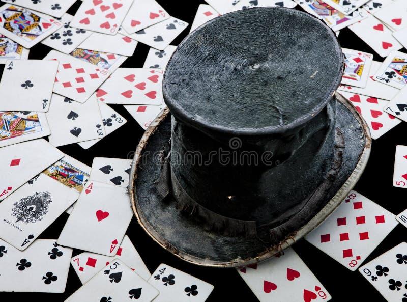Le chapeau du magicien. photos stock