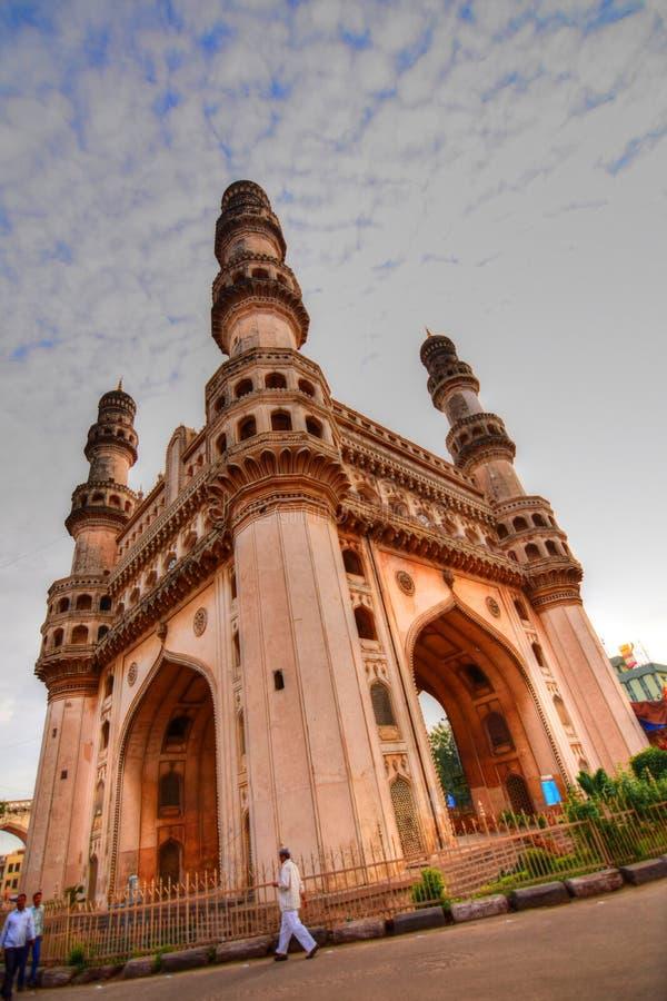 Le Charminar à Hyderabad photographie stock libre de droits
