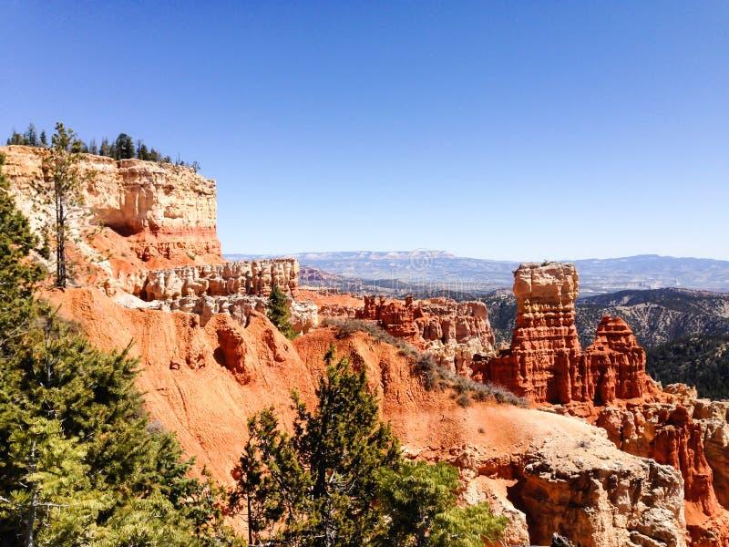 Le chasseur, canyon d'Agua, Bryce Canyon, soleil photographie stock libre de droits
