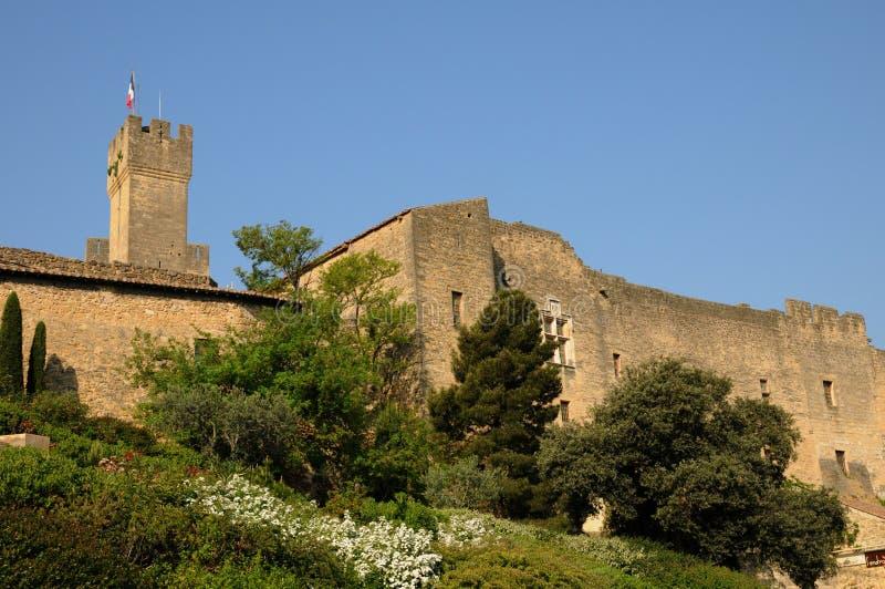 Le Chateau de l Emperi in salone de Provenza immagine stock libera da diritti