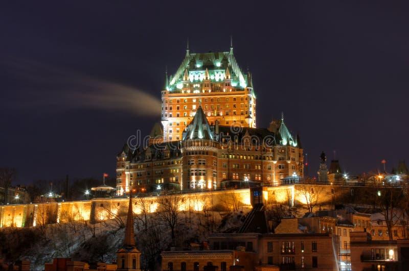 Download Le Chateau Frontenac stock photo. Image of landmark, city - 7798336
