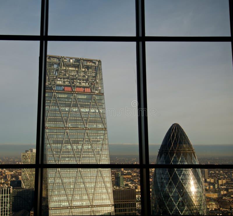 Le Cheesegrater Londres images libres de droits