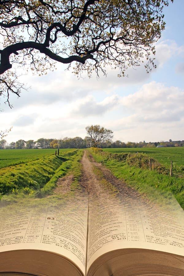 le chemin étroit à la vie éternelle photo libre de droits