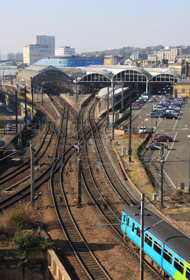 Le chemin de fer principal photos stock