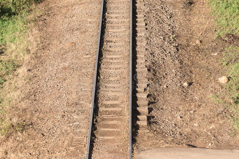 Le chemin des locomotives 01 photographie stock
