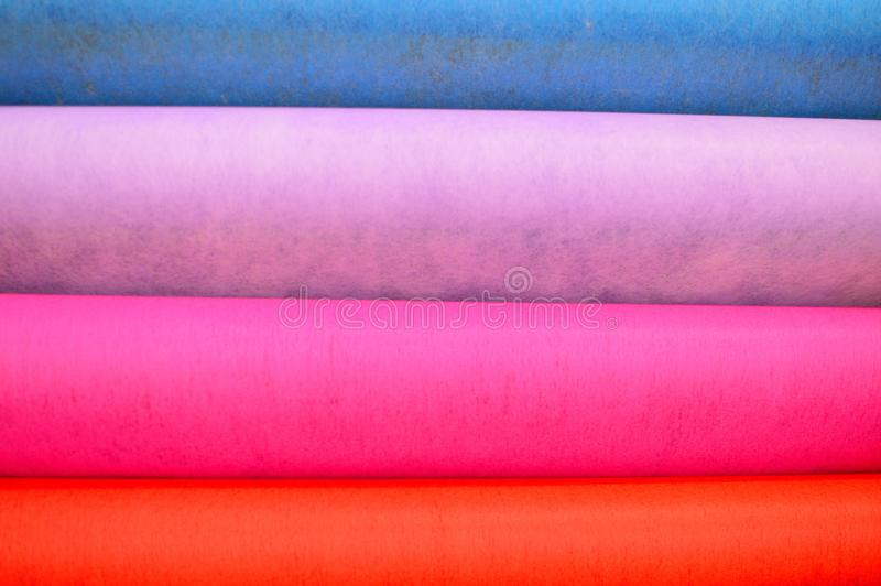 Le chiffon multicolore a senti le fond photo libre de droits
