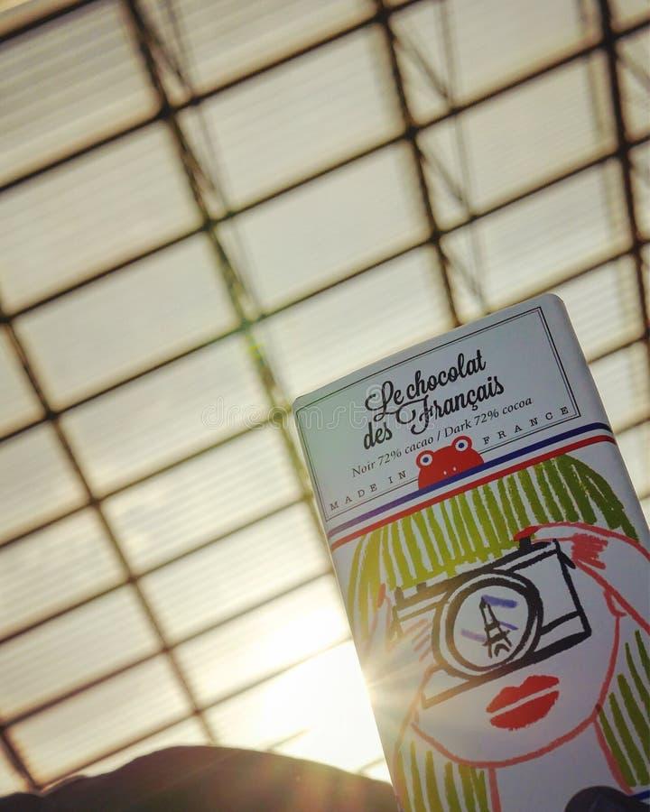 Le Chocolat de Francais stock photo