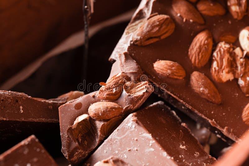 Le chocolat pour le vrai gourmet photographie stock