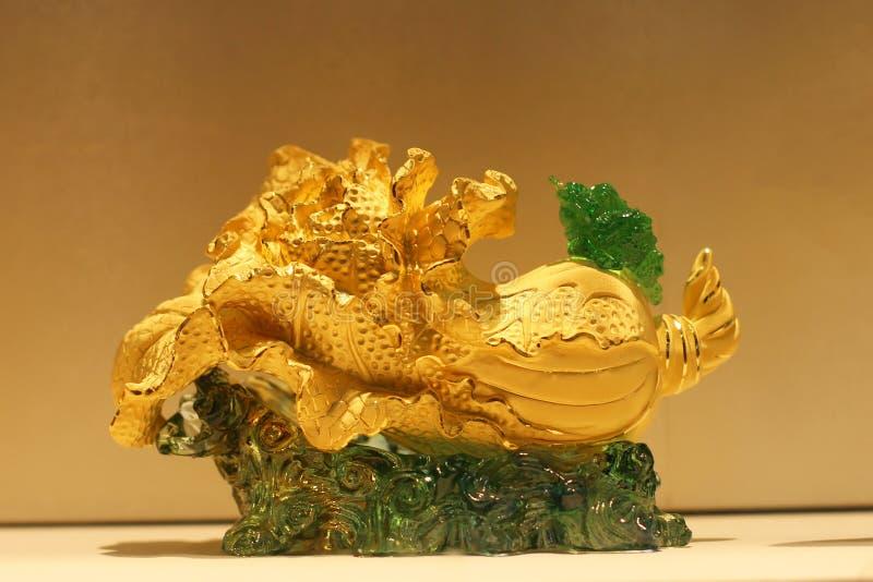 Le chou de chine d'or photographie stock libre de droits