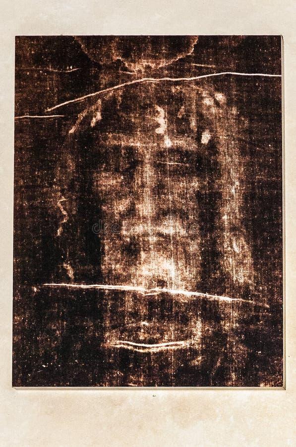 Le Christ font face dans Tourin photo libre de droits